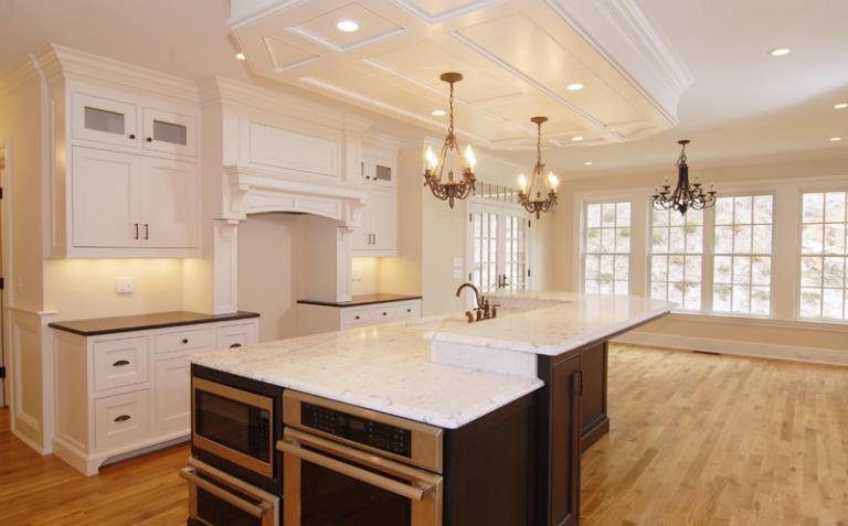 custom built new construction by leading home builder Bill Ferrigno